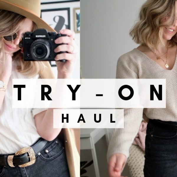Try-on haul Justine