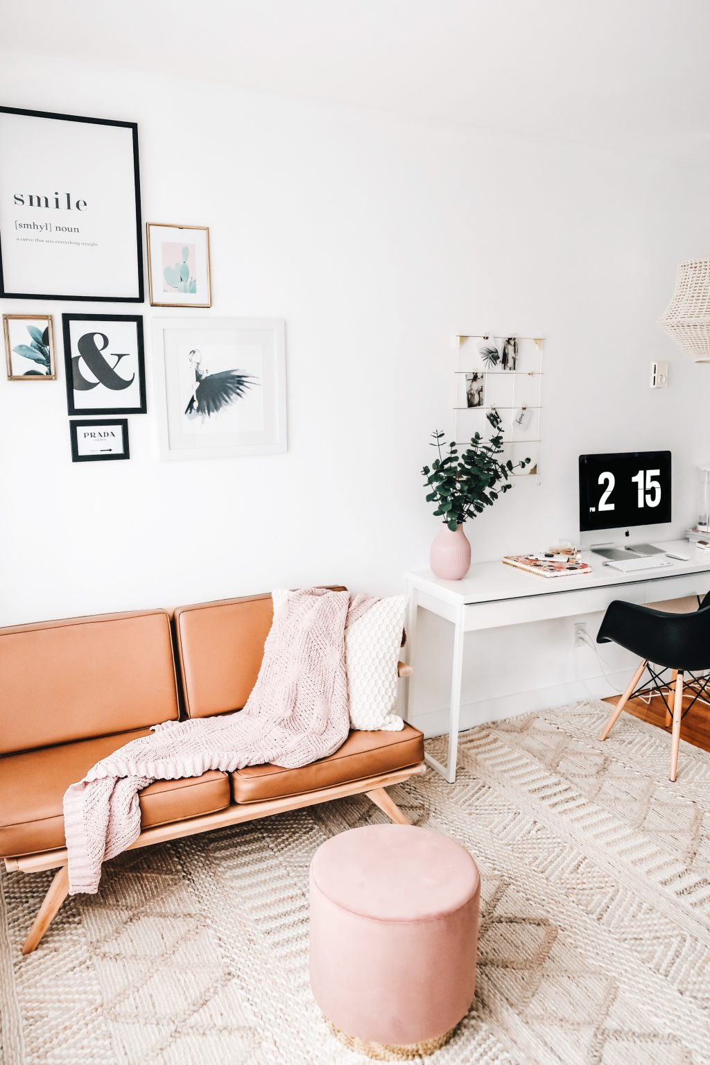justine brouillette bureau, ancien décor